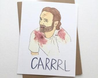 CARRRL //The Walking Dead Card