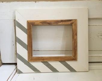Handmade 8x10 Picture Frame, Wall Decor, Gift, Wedding, Nursery, Baby, Custom