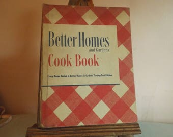 Better Homes and Gardens Cook Book - November, 1949 - 20th Printing - Best Selling Cook Book