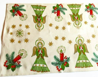 Set of 11 p Vintage Christmas Angel Straw Ornaments Christmas