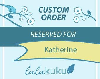 Custom Listing for Katherine - Woodland Animals - Fox, Hedgehog, Deer, Owl