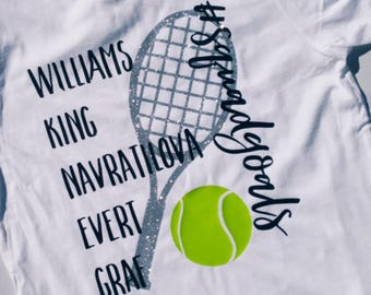 Tennis Shirt - Tennis Gift - Dream Team Shirt - Idol T-shirt - T-Shirt- Tennis Squad Goals - Squad Goals T-Shirt