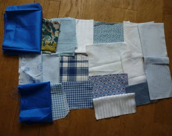 set of fabrics for patchwork 185 coupons