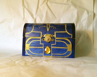 MUSICAL--The Small Boss Key Chest from The Legend of Zelda: Ocarina of Time and Majora's Mask (round top, imperfect))