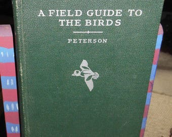 vintage book a field guide to the birds ca 1934 first ed second state