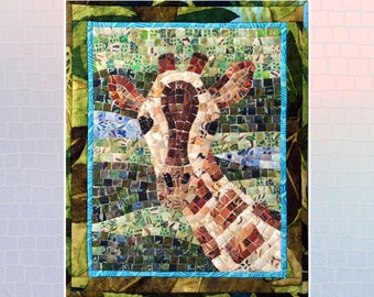 Giraffe Mini Mosaic Quilt Kit