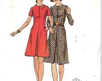 ON SALE Butterick 6541 Misses Half Size Dress Pattern, Size 18 1/2, Bust 41, UNCUT