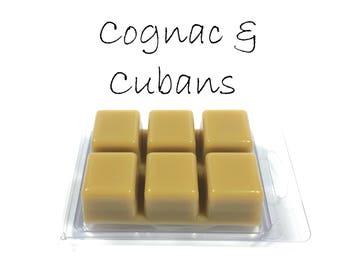 Cognac & Cubans Scented Soy Wax Tart Melts