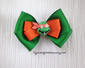 Ninja Turtles Hair Bow
