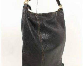 Fendi leather bag vtg