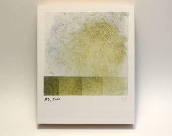 Polaroid #3 - small print - tiny art - geometric art - ready to hang - wall art - fine art series - contemporary art - abstract art