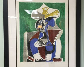 Limited Edition Signed and Numbered Picasso Lithograph