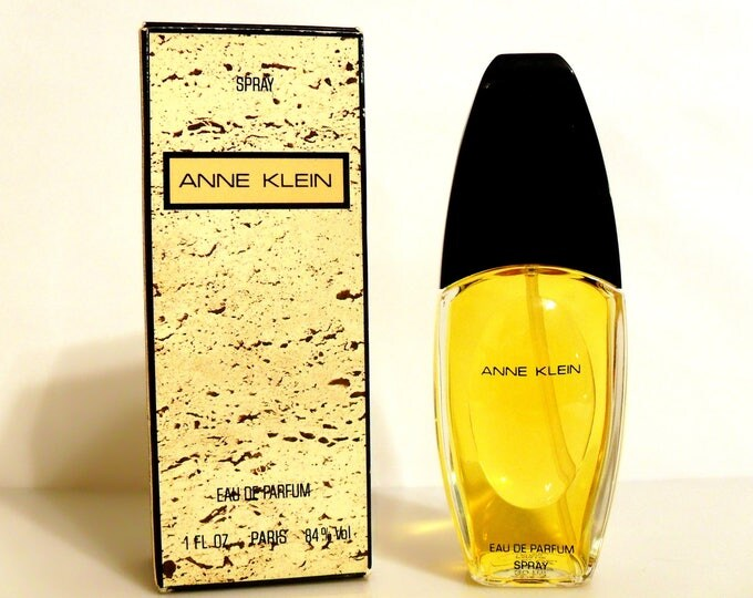 Vintage Perfume 1980s Anne Klein by Anne Klein 1 oz Eau de Parfum Spray & Box Classic Women's Fragrance