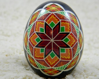 Red/Orange Bokova Rohza Pysanky