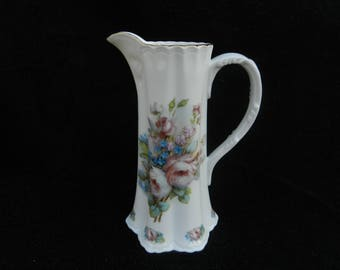 Pitcher: Hand painted Porcelain