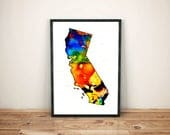 California illustration a...