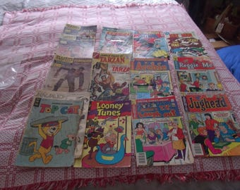 Comic book lot of 15 idfferent Vintage mid 70's
