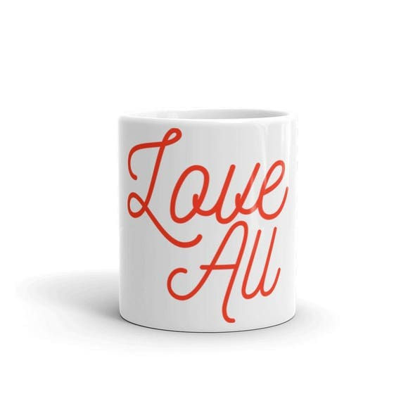 Tennis Love All Coffee Mug Tennis Gift Luna B. Tee