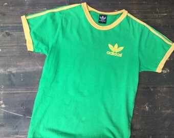 90s Adidas Football Ringer T-Shirt