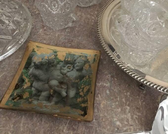 Cherub Art Glass