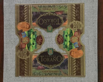 2017 Cigar Band Collage Coaster: Casa Torano Meets Oliva Master Blends