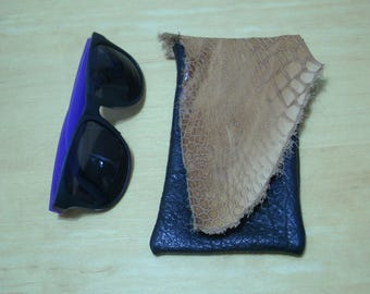 Free shipping! Leather boho waist or hip belt bag pouch for phone, sunglasses or sage