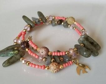 Wrap Bracelet, wrap bracelet, summer bracelet, anklet wrap