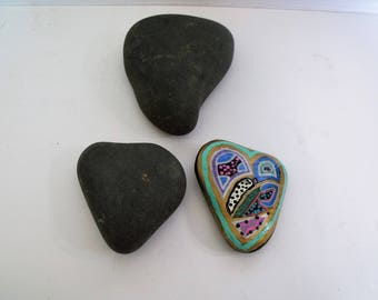 Heart Shaped Rocks for Painting Mandala, Zentangle or Your Own Unique Designs