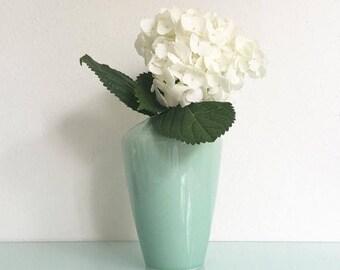 ON SALE Hollywood Regency Arita Sculptura Celadon Vase