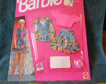 1992 Barbie Jeans Week-End Fashion-Sealed Package
