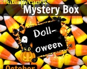 "Buterflycandy October Mystery Box | Ships by Oct 23rd | American Girl | Surprise Box | As Seen on YouTube | For 18"" Doll Fans 