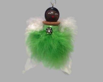 Angel spool doll ornament
