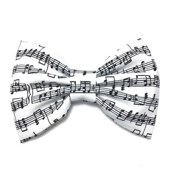 Music Notes Hair Bow, Cotton Fabric Hair Bow, Girls Hair Bow, Handmade Fabric Hair Bow, Big Bow, Kawaii Bows, Baby Bow Clips, Bow Tie 0021