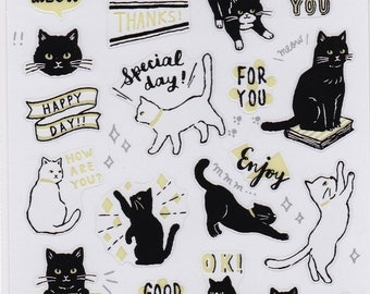 Cat Stickers (78783) Price depends on order volume. Buy other items together for BETTER price.