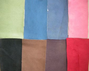 Endura Weave Comfort Suede 8 colors Upholstery Fabric for Bean Bag Chairs