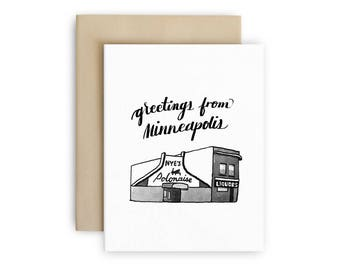 Nye's Polonaise - Greetings from Minneapolis - Everyday Greeting Card