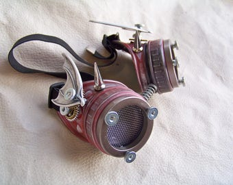 Steampunk Goggles- Hell Spawn