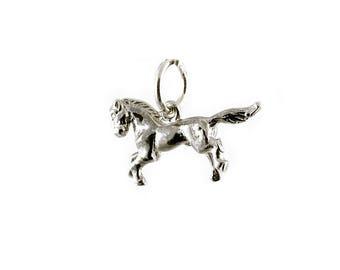 Sterling Silver Horse Charm For Bracelets