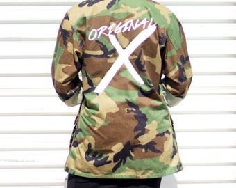 ORIGINAL Army Camo Jacket