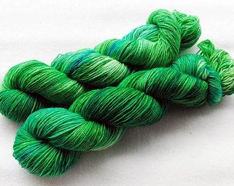 Handdyed SockYarn, 75 Wool, 25 Nylon 100g 3.5 oz. Nr. 117