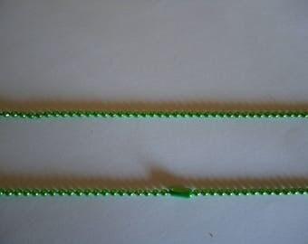 Light green ball chain