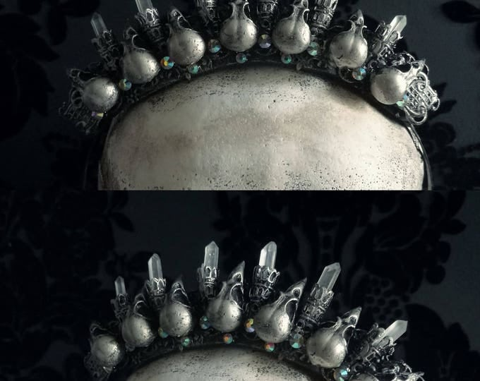 Mini Nevermore Crown - READY MADE