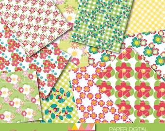 paper digital trendy spring colors
