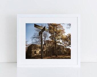 Mental Hospital - Urban Exploration - Fine Art Photography Print
