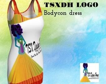 TSXDH sustainable bodycon dress