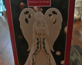 Gorgeous Lenox Angel Original Box Bell Ho;;y