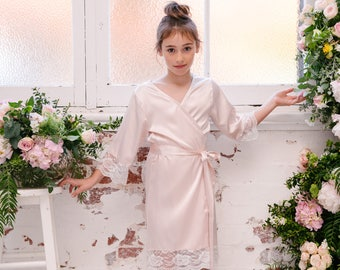 Bella Flower Girl Robe