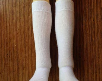 """Choice of Knee socks for 18"""" Kaye Wiggs or BJD: 30 colors available"""