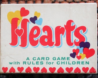 Whitman Hearts Card Game
