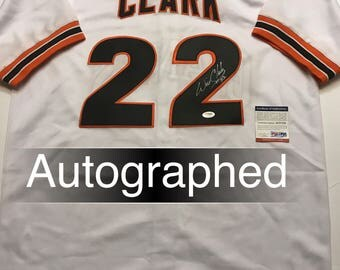 Will Clark AUTOGRAPHED San Francisco Giants Jersey w/PSA
